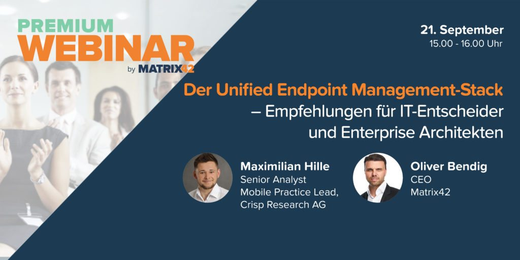 Premium Webinar Unified Endpoint management