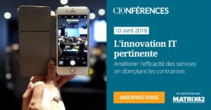 Conférence CIO L'innovation IT pertinente