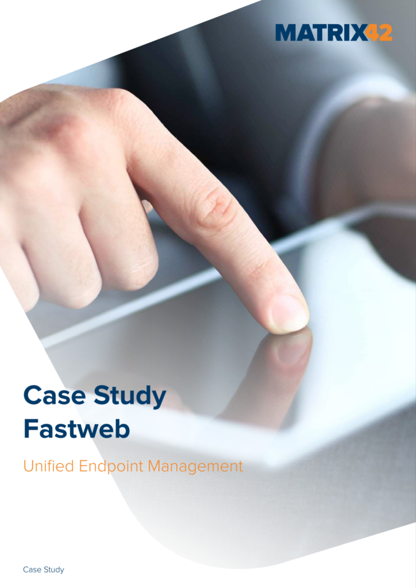 Fastweb manages complexity and functionality